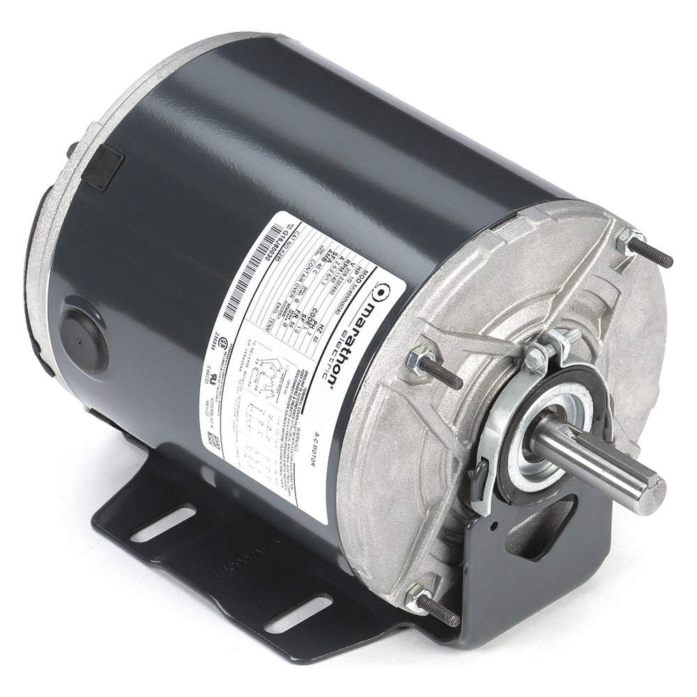 marathon motors 1/2 hp hp belt drive motor, 3-phase, 1140 nameplate rpm,  208-230/460 voltage, frame 56 - 403t98|5k49mn6080 - grainger  grainger