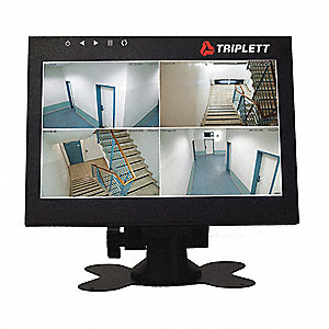 Video Monitor,Aluminum,Displays Color