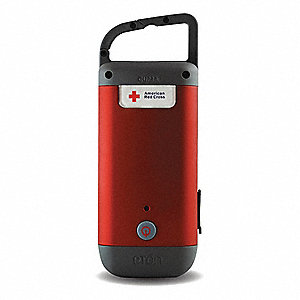 General Purpose LED Handheld Flashlight, Red