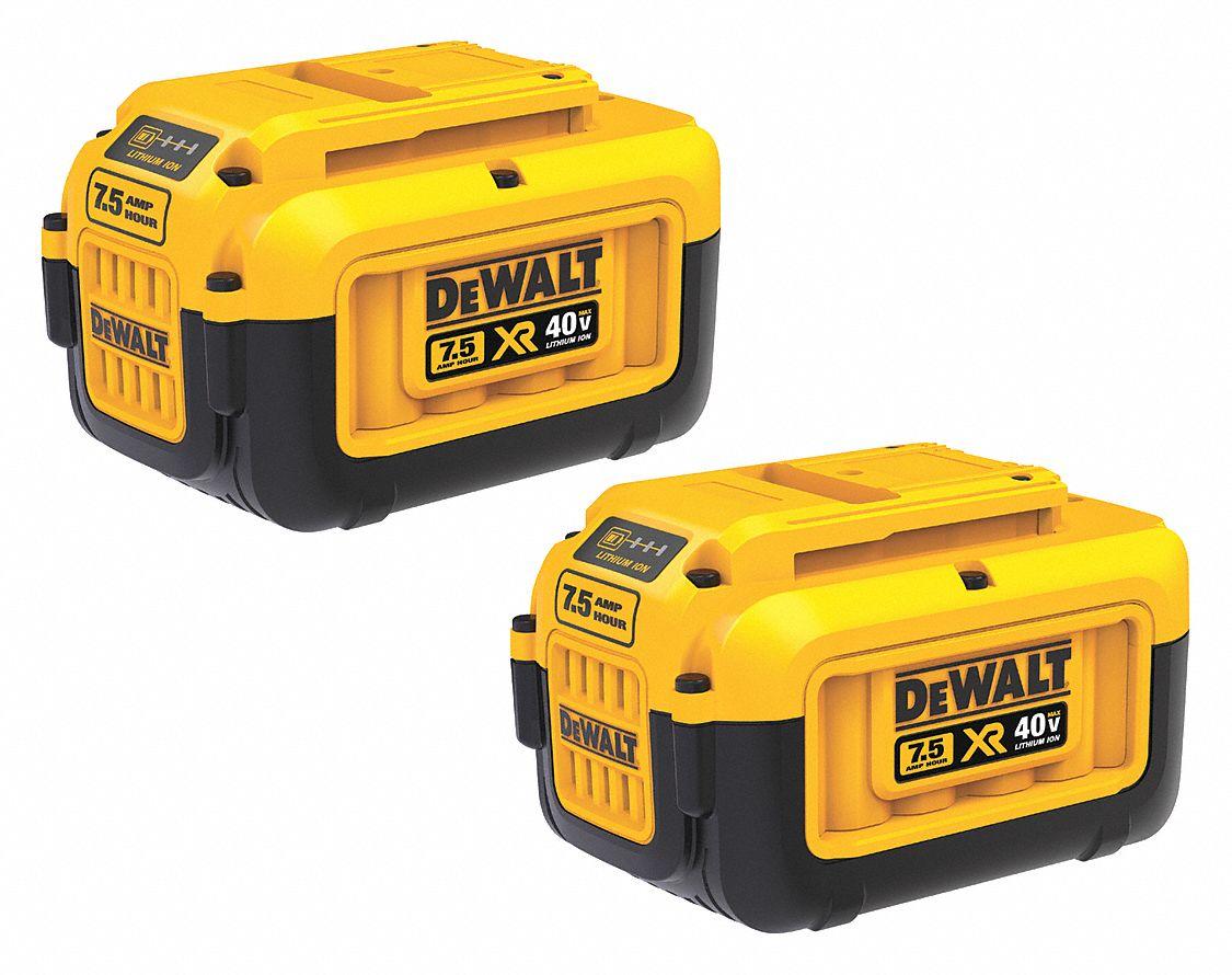For DEWALT 40V MAX Premium XR 7.5 Ah Li-Ion Battery Replacement DCB407