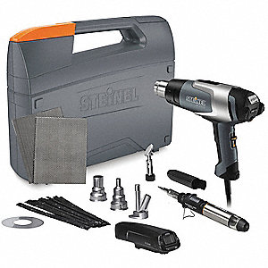 Heat Gun Kit,120VAC,13.3 Amps AC,1600W
