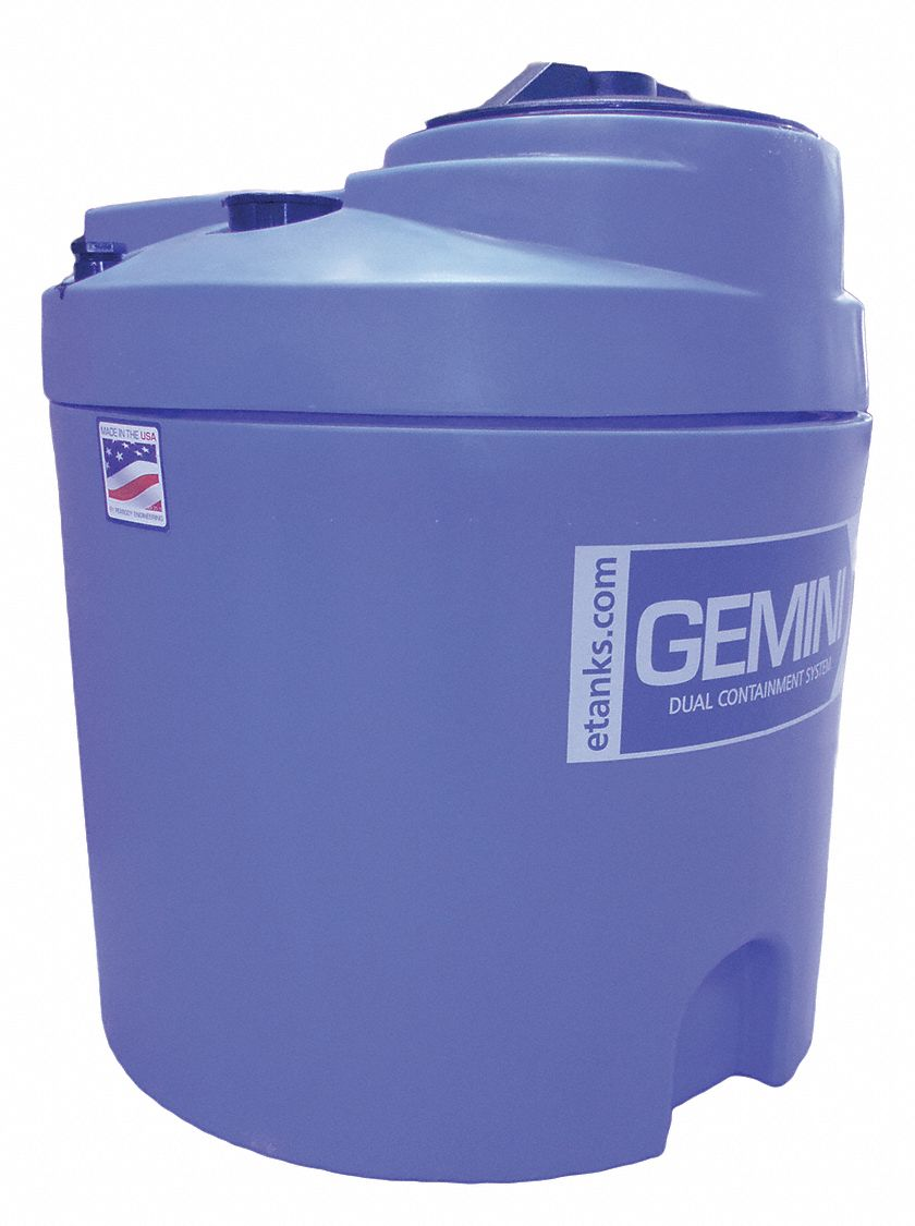 20-gal. Closed Top Vertical Double Wall Storage Tank