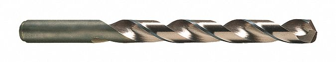 Jobber Length Drill Bit,  Drill Bit Size 3/16 in,  Drill Bit Point Angle 135 °,  Cobalt