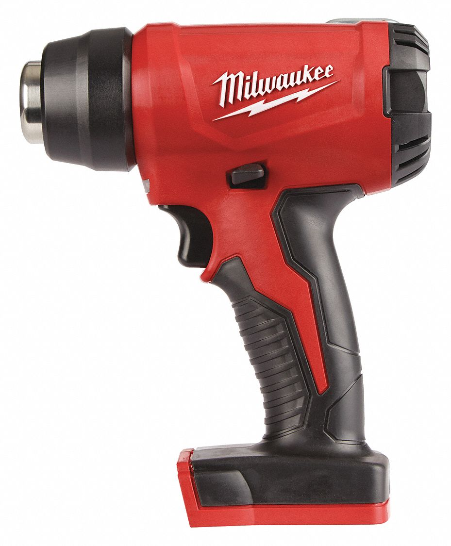 Battery Heat Gun 18V DC, Dual Temp. Settings, 875°F
