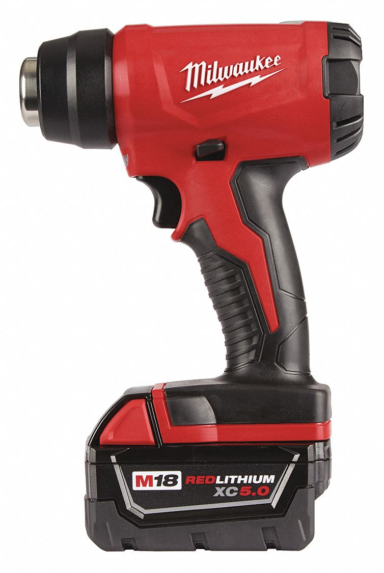 Electric Heat Gun Kit 18V DC, 875°F