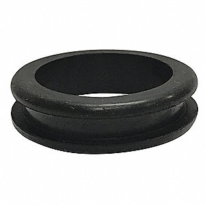 "Style 1 Rubber Grommet, 1-1/2"" I.D., 2"" O.D., 1/4"" Panel Thickness, PK25"