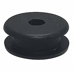 "Style 1 Rubber Grommet, 1/2"" I.D., 1-1/16"" O.D., 3/16"" Panel Thickness, PK50"
