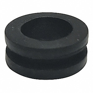"Style 1 Rubber Grommet, 1/2"" I.D., 13/16"" O.D., 7/64"" Panel Thickness, PK50"