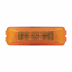 MARKER LAMP LED 1IN X 4IN AMBER