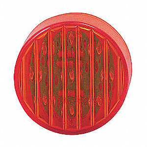 LAMP ROUND 2IN LED 9 DIODE RED