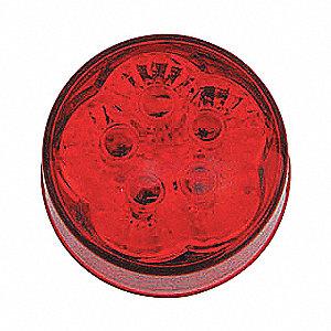 LAMP ROUND SUPER 2IN LED 5 DI RED