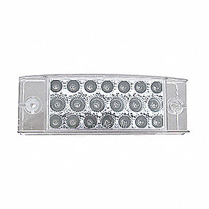 LAMP TRLR 2IN X 6IN LED 20D CLR/AMB