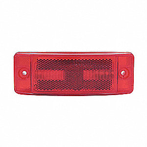 LAMP TRLR REFL 2IN X 6IN LED 8D RED