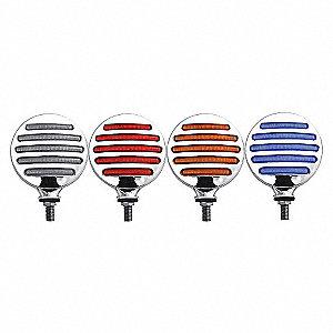 LAMP DUAL DBL FC FTLN LED AM/RD/BL