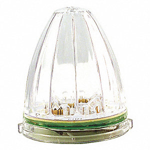 LAMP CAB PTRBLT LED 19D CLR/AMB