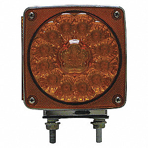 LAMP SQ DBL FACE-PASS SPR LED 38D