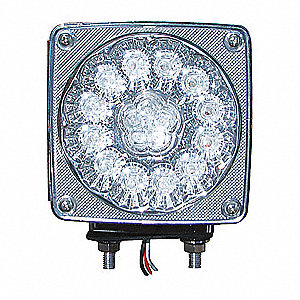 LAMP SQ DBL-FACE DRI SP LED 38D CLR