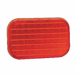 LAMP SQUARE LED 32D RED