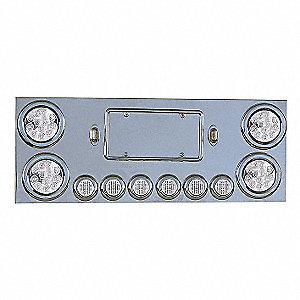 PANEL CTR UNIV 4X4IN 6X2IN LED-CLR