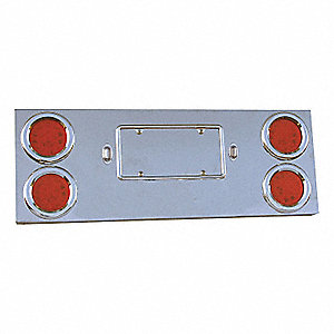 PANEL CENTER UNIV 4X4IN LEDS