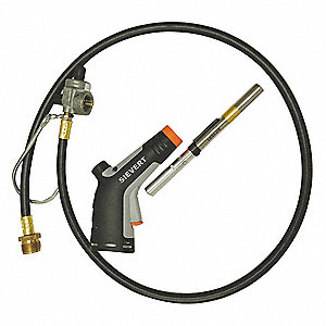 Torch Kit, Propane, Instant On/Off Ignitor, Swirl Flame Type