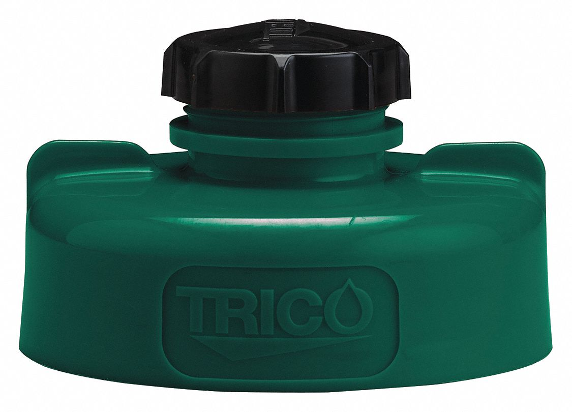 HDPE Storage Lid, Dark Green; For Use With Lubricating Fluids