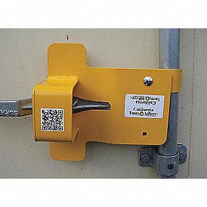 CONTAINER DOOR LOCK W/DISK LOCK