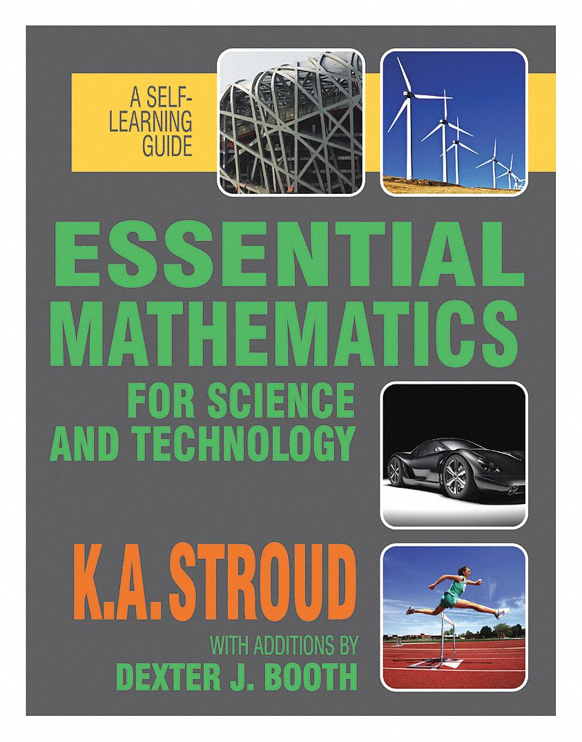 Textbook,  Mathematics,  Essential Mathematics for Science And Technology,  1st. Book Edition