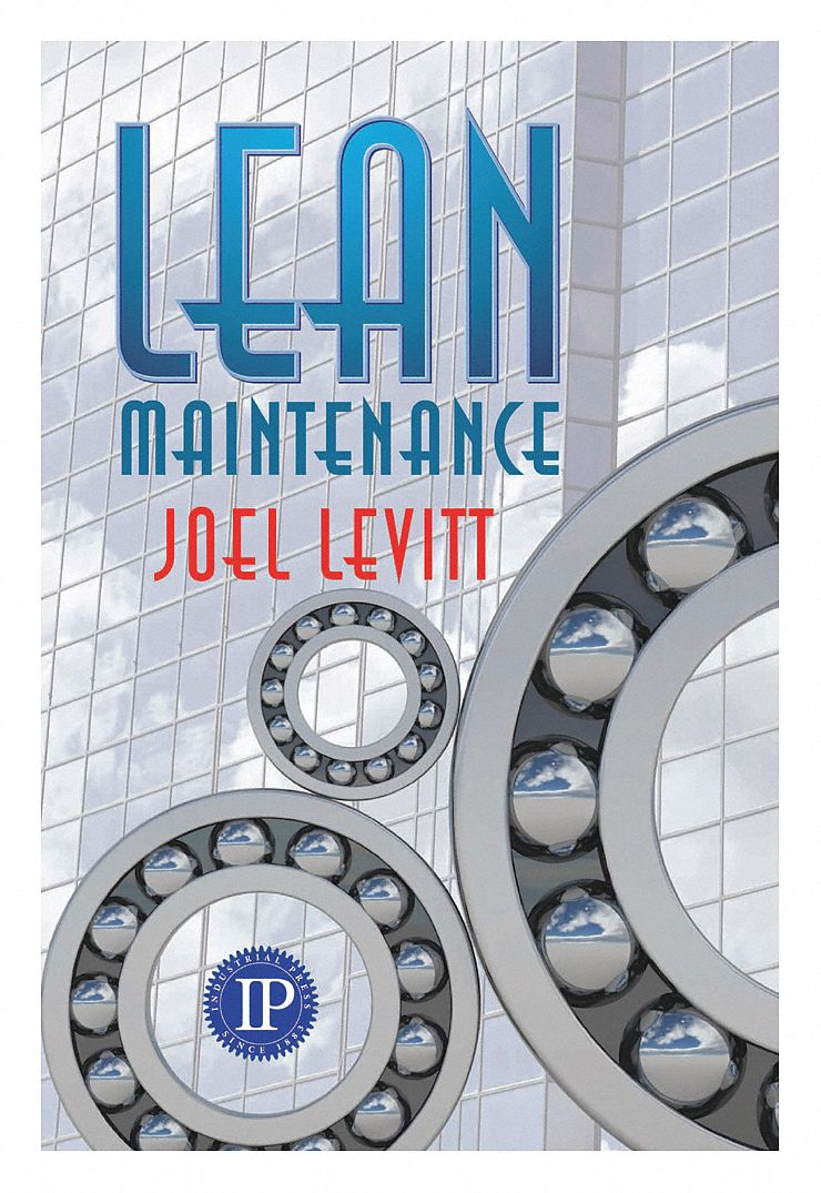 Reference Book,  Engineering and Architecture,  Lean Maintenance,  1st. Book Edition,  Paperback