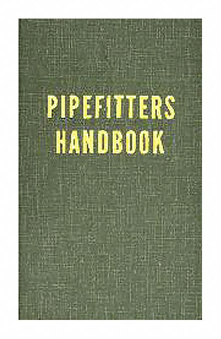 Textbook,  Other,  Pipefitters Handbook,  3rd. Book Edition,  Hardcover