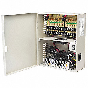 Power Supply,Wall Mount,18 Channel,8inW