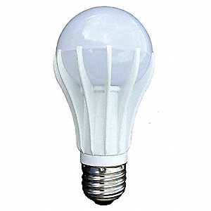 LED Light Bulb,A19,Med Screw,2700K,11W