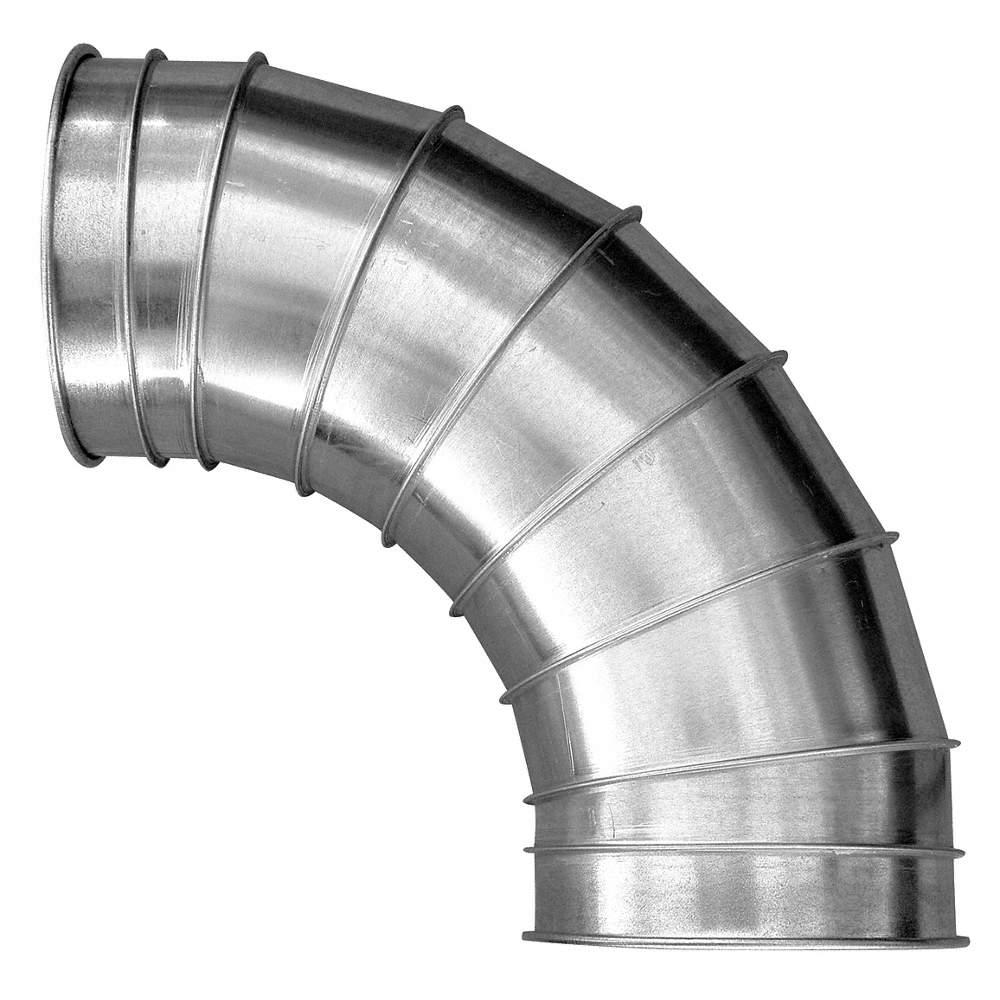 Galvanized Steel 45 Degree Elbow, 8