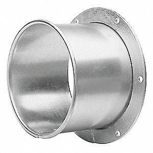 "Angle Flange Adapter,14"" dia.,Steel"