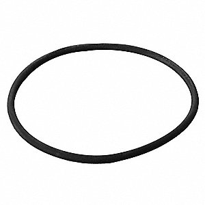 "Rubber Duct O-Ring, 10"" Duct Fitting Diameter, 10"" Duct Fitting Length"