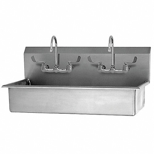 Sani lav estaci n lavado port til aceroinoxidabl lavabos - Lavabo portatil ...