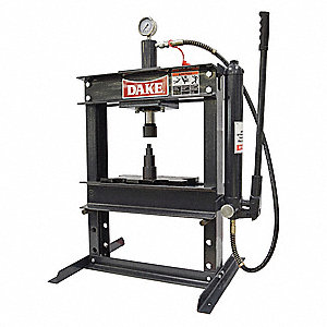 Dake Corporation Hydraulic Press Manual H Frame Single