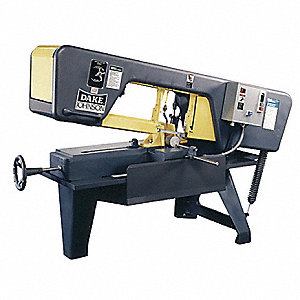 1 HP Horizontal Band Saw, Voltage: 110/220, Max. Blade Length: 137""