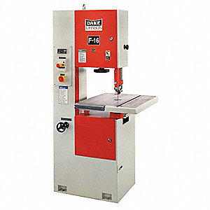 1-1/2 HP Vertical Band Saw, Voltage: 230/460, Max. Blade Length: 133""