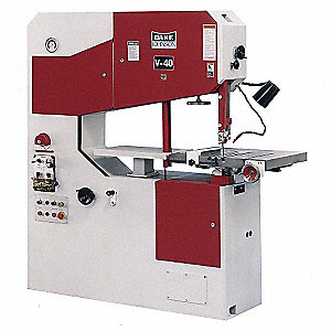 2-1/4 HP Vertical Band Saw, Voltage: 230/460, Max. Blade Length: 188""