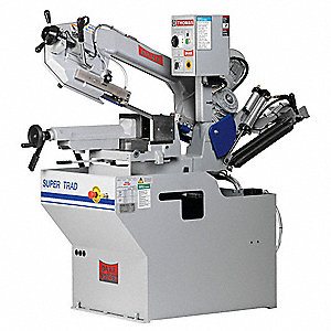 1-3/4 HP Horizontal Miter Band Saw, Voltage: 220, Max. Blade Length: 108""