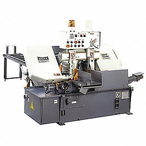 3 HP Horizontal Automatic Band Saw, Voltage: 230/460, Max. Blade Length: 150""