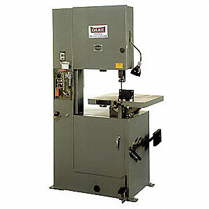 1-1/2 HP Gravity Feed Vertical Band Saw, Voltage: 110, Max. Blade Length: 150""