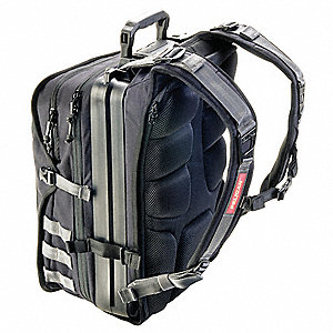 "Nylon Laptop Backpack Fits 15"" Laptops, Black"
