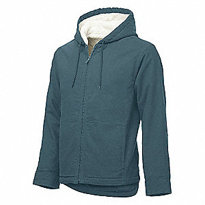 WOMENS JACKET BERBER S TEAL