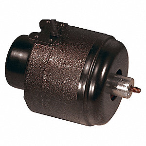 1/15 HP Unit Bearing Motor, Shaded Pole, 1500 Nameplate RPM,115 Voltage, Frame Non-Standard