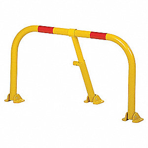 HEAVY DUTY PARKING HOOP YELLOW