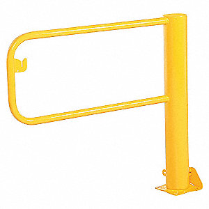 Dock Barricade,9 ft. Door W,8 in. L,PR