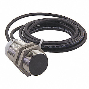 500 Hz Inductive Cylindrical Proximity Sensor with Max. Detecting Distance 22.0 mm