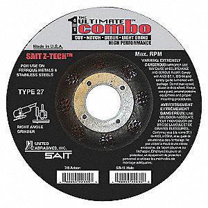 DISC T27 4.5X.095X7/8 ULT CMB ZTECH
